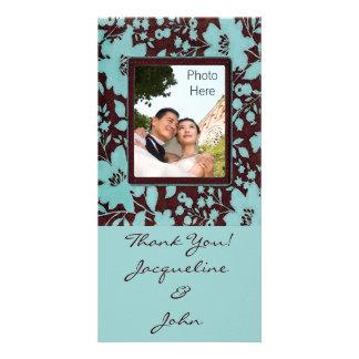 Foto-Einsatz-Karten ~ danken Ihnen Wedding Karte