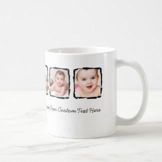 Foto-Gekritzel-Rahmen-personalisierte einzigartige Tasse