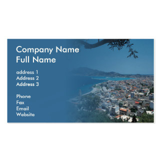 Foto-Geschäfts-Karte Visitenkarte