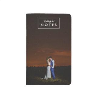Foto-Geschenk-personalisierte Taschen-Zeitschrift Notizbücher