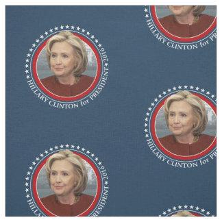 Foto Hillary Clinton - 2016 Kampagnen-Gang Stoff