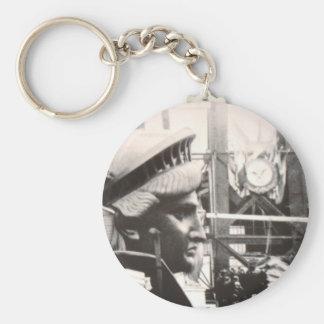 Foto in Paris die Herstellung von Dame Liberty Schlüsselanhänger