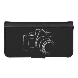 Foto-Kamera iPhone SE/5/5s Geldbeutel