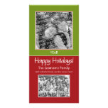 Foto-Karte: Frohe Feiertage! Bilderkarte