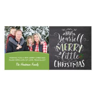 Foto-Karte - frohe wenig Weihnachten Karte