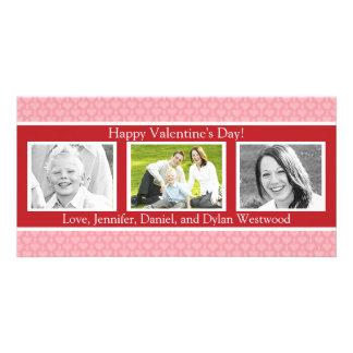 Foto-Karten des Valentines kundenspezifische Tages Karte