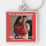 Foto Keychain Valentinstag Schlüsselanhänger