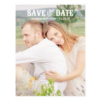 Foto Landchic-  Save the Date Postkarten