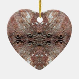 Foto-Manipulation Seeoberteil Keramik Herz-Ornament
