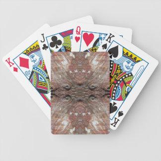 Foto-Manipulation Seeoberteil Pokerkarten