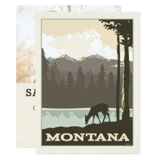Foto Montanas | Save the Date - 14 X 19,5 Cm Einladungskarte
