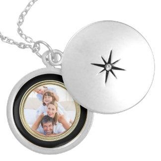 Foto-Mutter-Tagesandenkenlocket-Halskette Personalisierter Schmuck
