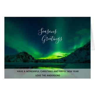 Foto-Nordlicht-Island-Aurora Borealis Karte