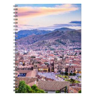 Foto-Notizbuch (80 Seiten B&W) Cusco Notizblock