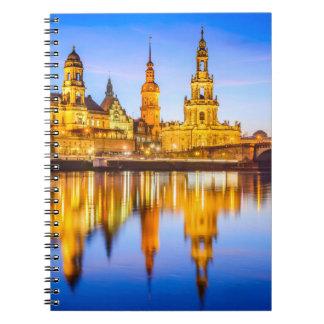 Foto-Notizbuch (80 Seiten B&W) Dresden Notizblock