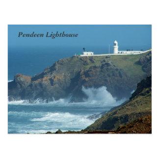 Foto Pendeen Leuchtturm-Cornwalls England Postkarte