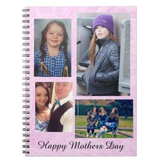 Foto-personalisierte Zeitschrift der Mutter Notizblock