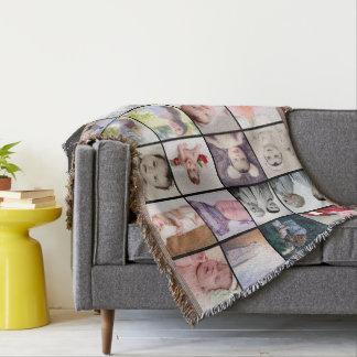 Foto personalisiertes der Foto-Collage 20 von Decke