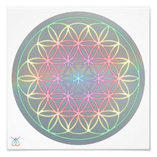 "Foto Poster ~ Healing~Energy ""Flower Of Life"""