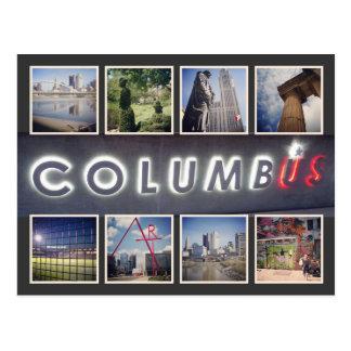 Foto-Postkarte Columbus Ohio Postkarte