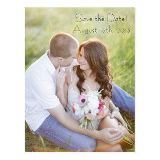 Foto-Postkarte Save the Date Postkarte