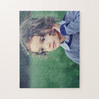 Foto-Puzzlespiel des Kind11x14 mit Geschenkboxen Puzzle