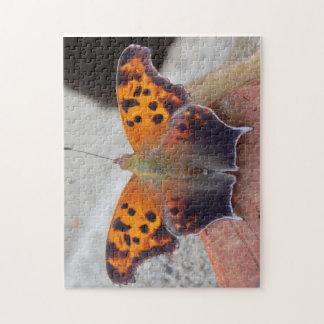 Foto-Puzzlespiel des Schmetterlings-11x14 mit Puzzle