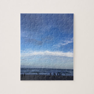 Foto-Puzzlespiel des Strandes Puzzle