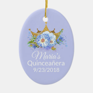 Foto Quinceañera Andenken-Verzierung Keramik Ornament