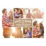 Foto-Schaukasten-Save the Date - Handwerk Individuelle Ankündigung