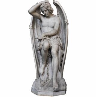 Foto-Skulptur Guillaume Geefs Lucifer CC0285 Freistehende Fotoskulptur