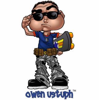 Foto-Skulptur Owens Ustuph™ Fotofiguren