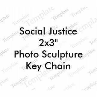Foto-Skulptur-Schlüsselkette der Fotofiguren