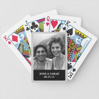 Foto-Spielkarten Bicycle Spielkarten