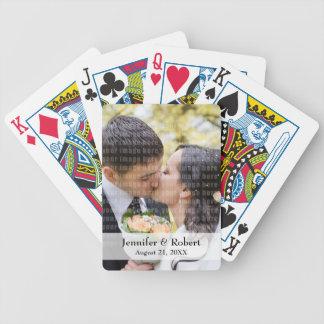 Foto-Spielkarten Pokerkarten