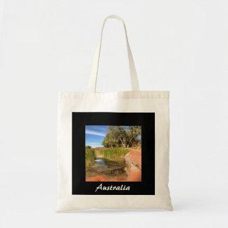 Foto-Taschentasche des Australiers outback Tragetasche