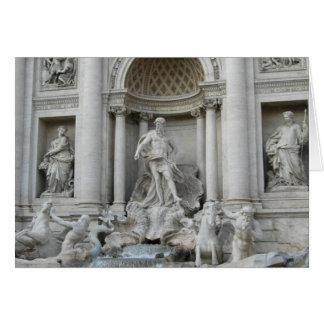 Foto Trevi-Brunnen-Fontanas di Trevi Rom Karte