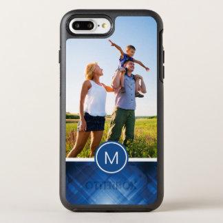 Foto u. Monogramm blauer HalloTechnologie OtterBox Symmetry iPhone 8 Plus/7 Plus Hülle