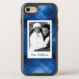 Foto u. Name dunkelblauer HalloTechnologie OtterBox Symmetry iPhone 8/7 Hülle