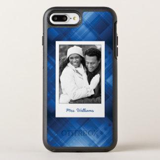 Foto u. Name dunkelblauer HalloTechnologie OtterBox Symmetry iPhone 8 Plus/7 Plus Hülle