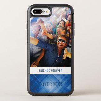 Foto u. Text dunkelblauer HalloTechnologie OtterBox Symmetry iPhone 8 Plus/7 Plus Hülle