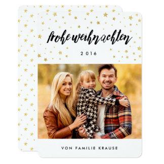 Foto Weihnachtskarte 12,7 X 17,8 Cm Einladungskarte