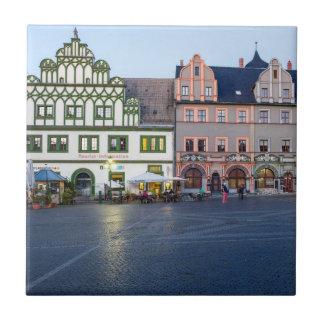 Foto Weimars Marktplatz Fliese
