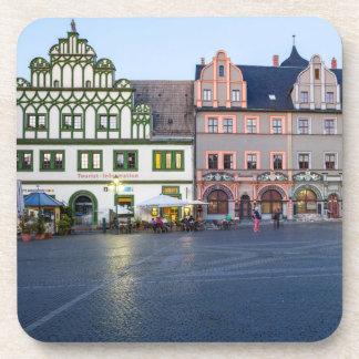Foto Weimars Marktplatz Getränkeuntersetzer