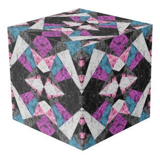 Foto-Würfel-Marmor-geometrischer Hintergrund G438 Würfel