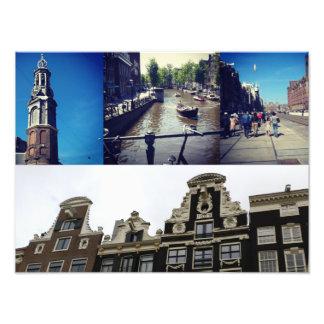Fotocollage Amsterdam 2 Fotodruck