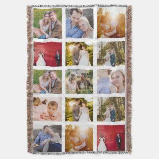 Fotodecke des Foto-Collagen-Geschenks 15 Decke