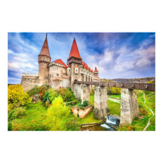 Fotodruck Corvin Schloss