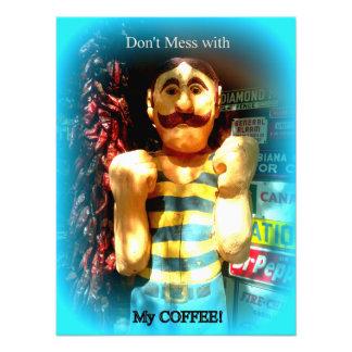 Fotodruck des Kaffeeliebhabers