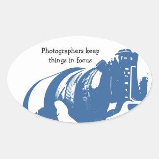 Fotograf-Aufkleber